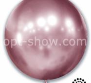 """Шар гігант Рожевий Хром 21"""" (52,5 см) Арт Шоу"""