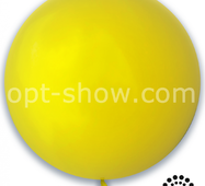 "Шар гігант Жовтий 21"" (52,5 см) Арт Шоу"