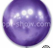 """Шар гігант Фіолетовий Хром 21"""" (52,5 см) Арт Шоу"""