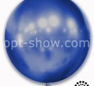 """Шар гігант Синій Хром 21"""" (52,5 см) Арт Шоу"""