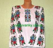 Борщівська сорочка вишита жіноча