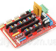 RAMPS 1.4 під Arduino Mega 2560 для 3D принтера RepRap
