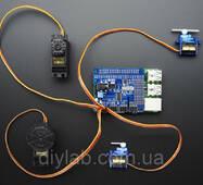 16 канальный 12 - bit PWM/Servo для Raspberry Pi I2C интерфейс