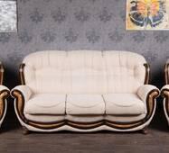 Комплект м'яких меблів Женовії в класичному стилі