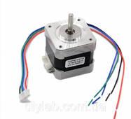 Кроковий двигун Nema17 17HS4401 для ЧПУ, CNC, 3D принтера