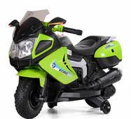 Мотоцикл Bambi M 3625EL-5 Зеленый