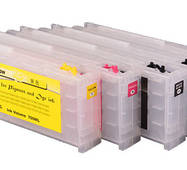 Перезаправляемые картріджи Ocbestjet для Epson SureColor SC-T3200/T5200/T7200 з чіпами (5 шт. по 700 мл)