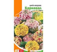 Семена цветов Циния махровая Карнавал, 0.5 гр