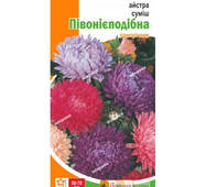 Семена цветов Астра Смесь пионообразная, 0.3 гр