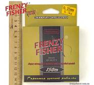 Волосінь FRENZY FISHER GOLD CRUCIAN 0,25 мм (150 м)