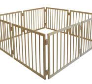 Манеж дитячий дерев'яний 63 см 8 секцій