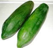 Папайя зеленая (овощная)