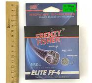 "Шнур FRENZY FISHER ""ELITE FF-4"" 0,20мм 4-х жильный (150м)"