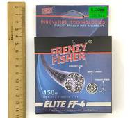 "Шнур FRENZY FISHER ""ELITE FF-4"" 0,30мм 4-х жильный (150м)"