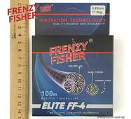"Шнур FRENZY FISHER ""ELITE FF-4"" 0,25мм 4-х жильный (100м)"