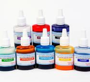 Красители светопрозрачные жидкие Просто и Легко для эпоксидной смолы набор из 8 цветов по 20 г (102SG 066 820)