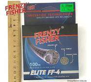 "Шнур FRENZY FISHER ""ELITE FF-4"" 0,20мм 4-х жильный (100м)"
