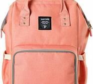 Рюкзак для мами Sunveno Diaper Bag Orange Pink