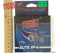 "Шнур FRENZY FISHER ""ELITE FF-4"" 0,14мм 4-х жильный (100м)"