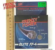 "Шнур FRENZY FISHER ""ELITE FF-4"" 0,16мм 4-х жильный (100м)"