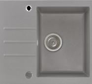 Кухонне миття KERNAU KGS A 4560 1b1d GREY METALLIC