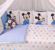 Комплект постельного белья Микки