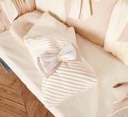 Комплект постельного белья для новорождённых Шарм 10-02