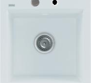 Кухонне миття KGS M 45 1b PURE WHITE