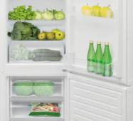 Двухкамерный холодильник KERNAU KFRC 17153 W