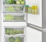 Двухкамерный холодильник KERNAU KFRC 18162 NF IX