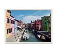 """Постер """"Венеція"""" без скла 297x420 мм у білій  рамці"""
