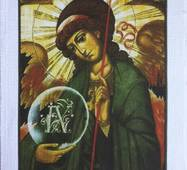Ангел хранитель крестиком