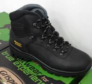 Мужские черние зимние кожание ботинки GRISPORT 10242D21LG , 44 РОЗМІР, 29 см  ОРИГИНАЛ.