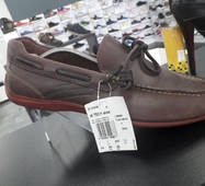 Rockport by adidas L28390 40 2/3 розмір  стелька 25.5 см. кожание мокасини