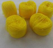 Акрил для вышивки:  желтый