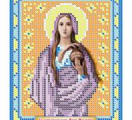 Схема для вышивки бисером иконы '' Св. Равноапостольная Мария Магдалена ''
