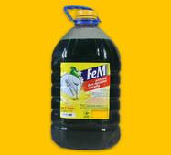 Жидкость для мытья посуды Fem 5 л