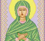 Схема для вишивки бісером  ''Св.  Праведна Мариамна (Мар'яна)
