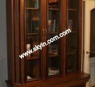 Книжкові шафи Колізей для кабінету масив дуба