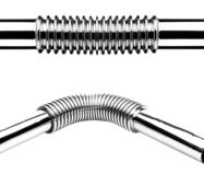 Труба гофрированная для умывальника ТМ McAlpine RS 9