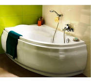 Акрилова ванна Cersanit Joanna (Ліва) 1400х900х420