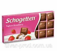 Шоколад молочный SCHOGETTEN YOGHURT - STRAWBERRY клубника 100г (1/15)