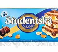 Шоколад молочно-белый Studentska Арахис, Цукаты и Изюмины 180г Orion (1/16)
