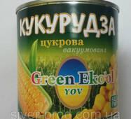 """Кукуруза сахарная 340г """"Green Eko'ol"""" же/бы (1/12)"""