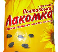 """Семена подсолнуха жареное 200г """"Полтавская Лакомка"""" оригинал (1/20)"""