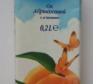 """Сек 0,2л абрикосовый с мякотью """"Экосфера"""""""