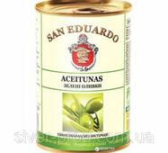 Оливки зелены без косточки 260г San Eduardo (1/24 или 12)