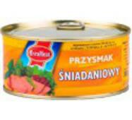 Паштет Sniadaniowy 300г курка   свинина EvraMeat ключ же/бы (1/12)