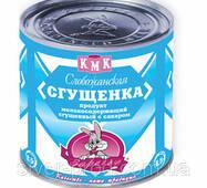 """Продукт молоковмісний сгущен """"Згущенка Слободская"""" же/бы 370г КМК (1/45)"""