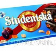 Шоколад черный Studentska Арахис и Изюмины 180г Orion (1/15)